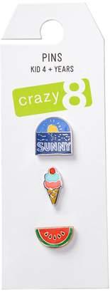 Crazy 8 Crazy8 Sunny Pins 3-Pack