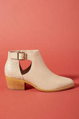 Anthropologie Cutout Booties