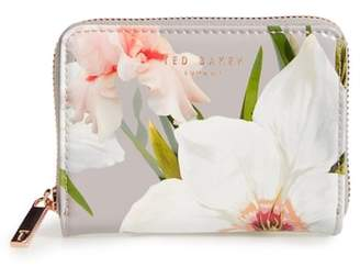 Ted Baker Vallie Chatsworth Bloom Leather Zip Coin Purse