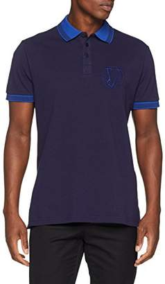 Versace Men's Man T-Shirt Polo,Small (Size: 48)