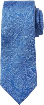 Banana Republic Palm Leaf Silk Nanotex Tie