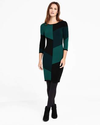 Phase Eight Abriana Block Knit Dress