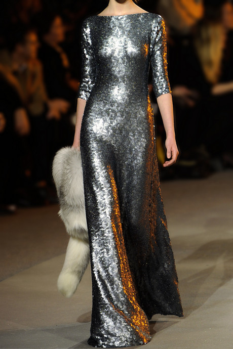 Marc Jacobs Open-back sequined gown