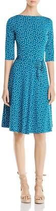 Leota Ilana Confetti Dot Dress $148 thestylecure.com