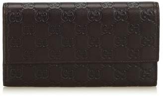 Gucci Vintage Guccissima Long Wallet