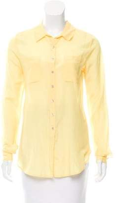 Calypso SILK-Blend Long Sleeve Top