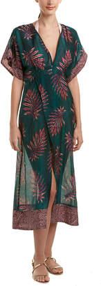 Vix Dione Silk-Blend Caftan