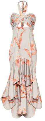 Johanna Ortiz River of Life cotton sateen dress