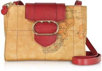 Alviero Martini Wonder Geo Two Tone Shoulder Bag