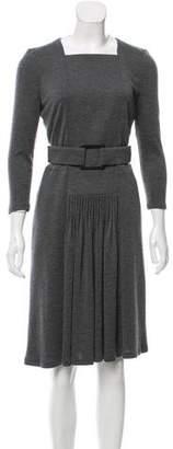 Akris Cashmere Midi Dress