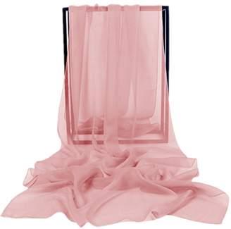 VaniaDress Women Chiffon Long Shawls Bridal Wrap Evening Dress Scarves V002PJ M