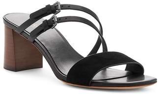 Botkier Women's Dune Suede & Leather Block Heel Slide Sandals