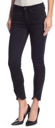 Vigoss Tulip Hem Marley Mid-Rise Skinny Jeans