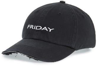 Green Weekday Cap
