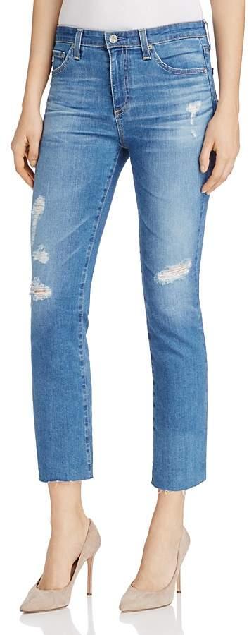 AG JeansAG Jodi Distressed Cropped Jeans