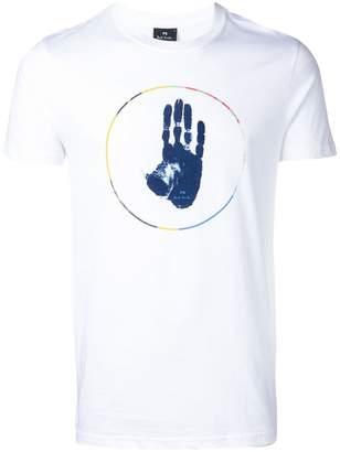 Paul Smith 'Circle Hand' print T-shirt