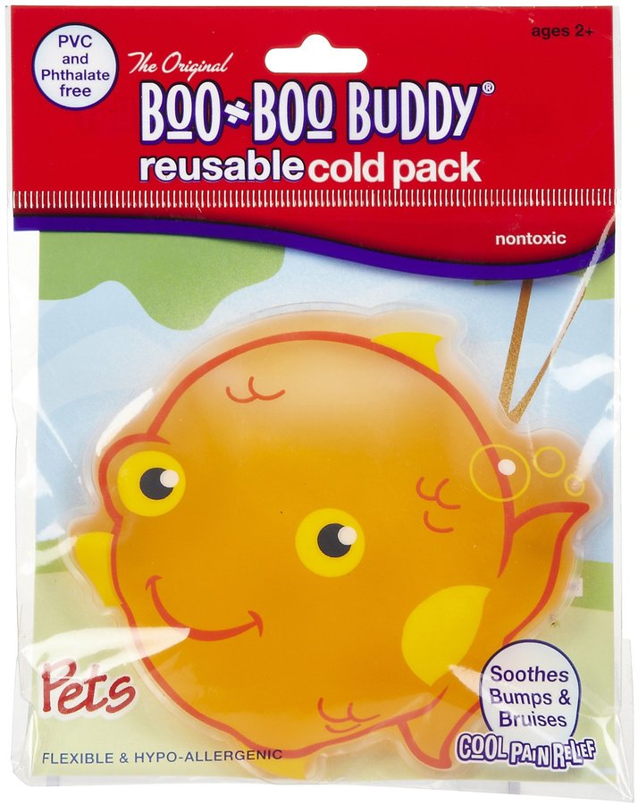 Safety First Boo Boo Buddy Cold Pack - Goldfish