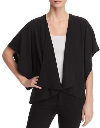 Eileen Fisher Drape-Front Kimono Jacket - 100% Exclusive