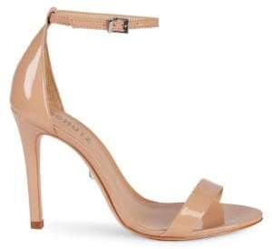 Schutz Patent Leather Ankle-Strap Sandals
