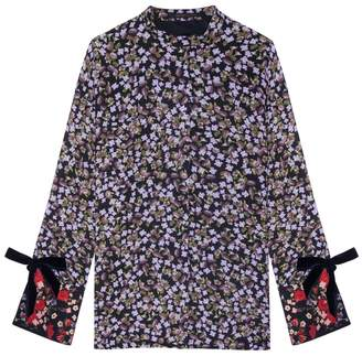 Mother of Pearl Kirby Floral Top