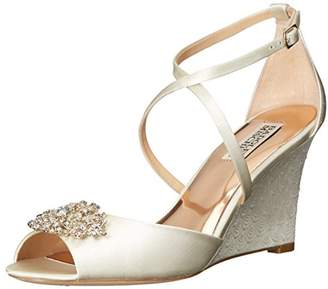 Badgley Mischka Women's Abigail Wedge Sandal