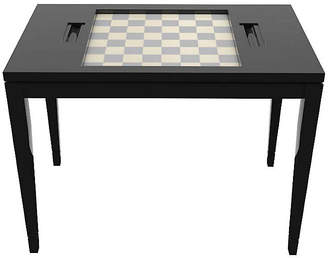 Oomph Chess Game Table - Tricorn Black