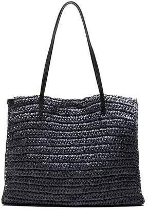 Banana Republic Packable Straw Square Tote