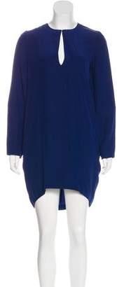Stella McCartney Silk Long Sleeve Dress