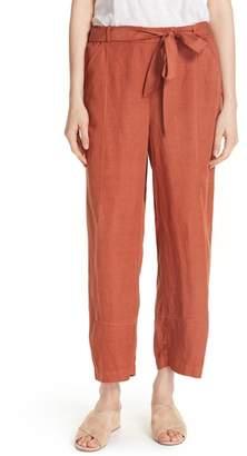 Eileen Fisher Lantern Twill Ankle Pants