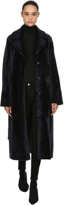 Drome Reversible Fur Coat W/ Belt
