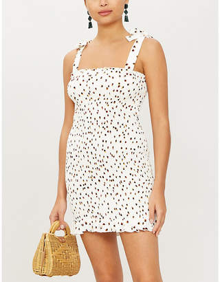 Tigerlily Gaia crepe mini dress