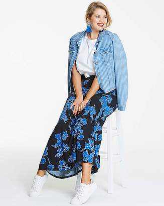 Fashion World Floral Print Stetch Jersey Maxi Skirt