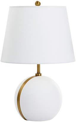 Lulu & Georgia Gisella Sphere Table Lamp, White and Gold