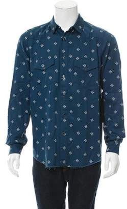 Amiri Western Paisley Shirt w/ Tags black Western Paisley Shirt w/ Tags