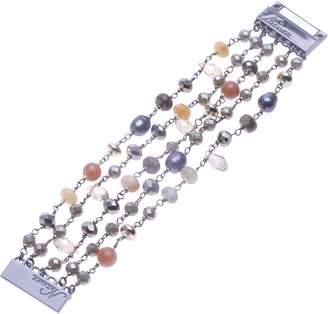 Nakamol Design Crystal & Pyrite Magnetic Bracelet