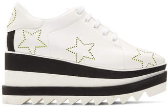 Stella McCartney White Sneak-Elyse Stars Sneakers