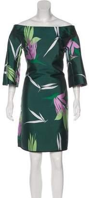 Marni Patterned Mini Dress