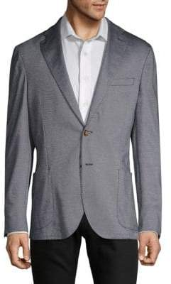 Eleventy Sartorial Cotton Jacket