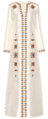 Tory Burch Meryl silk and cotton maxi dress