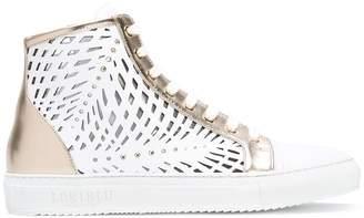 Loriblu cut-out panel sneakers