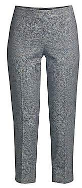 Piazza Sempione Women's Audrey Printed Stretch Cropped Pants