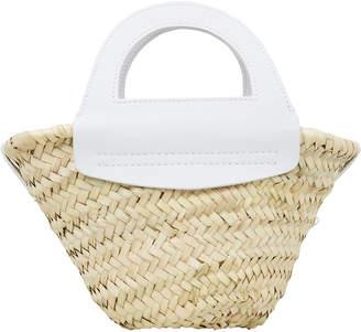 Hereu Small Cabas Straw Tote Bag