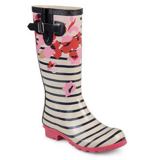 Journee Collection Mist Womens Water Resistant Rain Boots
