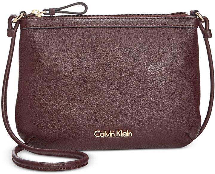 Calvin KleinCalvin Klein Pebble Leather Crossbody