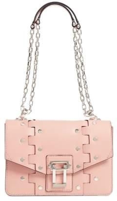 Proenza Schouler Hava Studded Leather Shoulder Bag