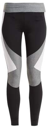 Charli Cohen - Laser Cut Performance Leggings - Womens - Black