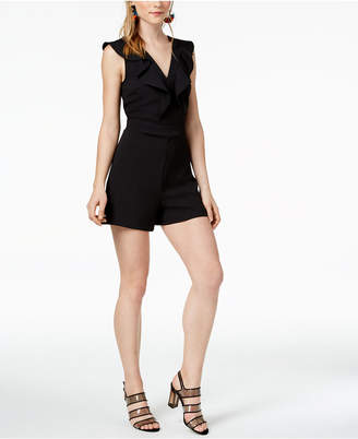 Bar III Ruffled Romper, Created for Macy's