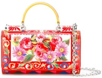 Dolce & Gabbana mini 'Von' wallet Mambo print crossbody bag $995 thestylecure.com