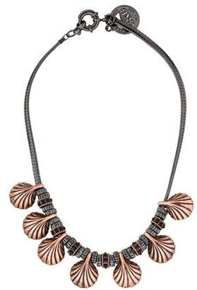 Giles & Brother Shell Necklace $125 thestylecure.com