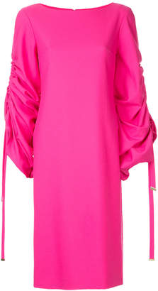 Osman ruched sleeve dress